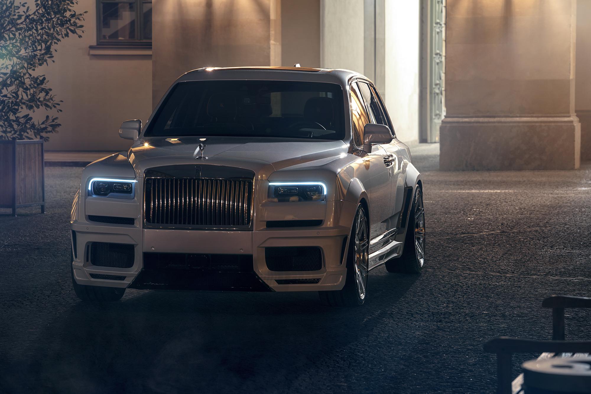 Rolls-Royce Cullinan with Spofec Overdose Body kit