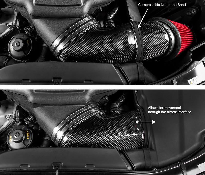 Eventuri Carbon fiber Intake systems for BMW M3 E9X