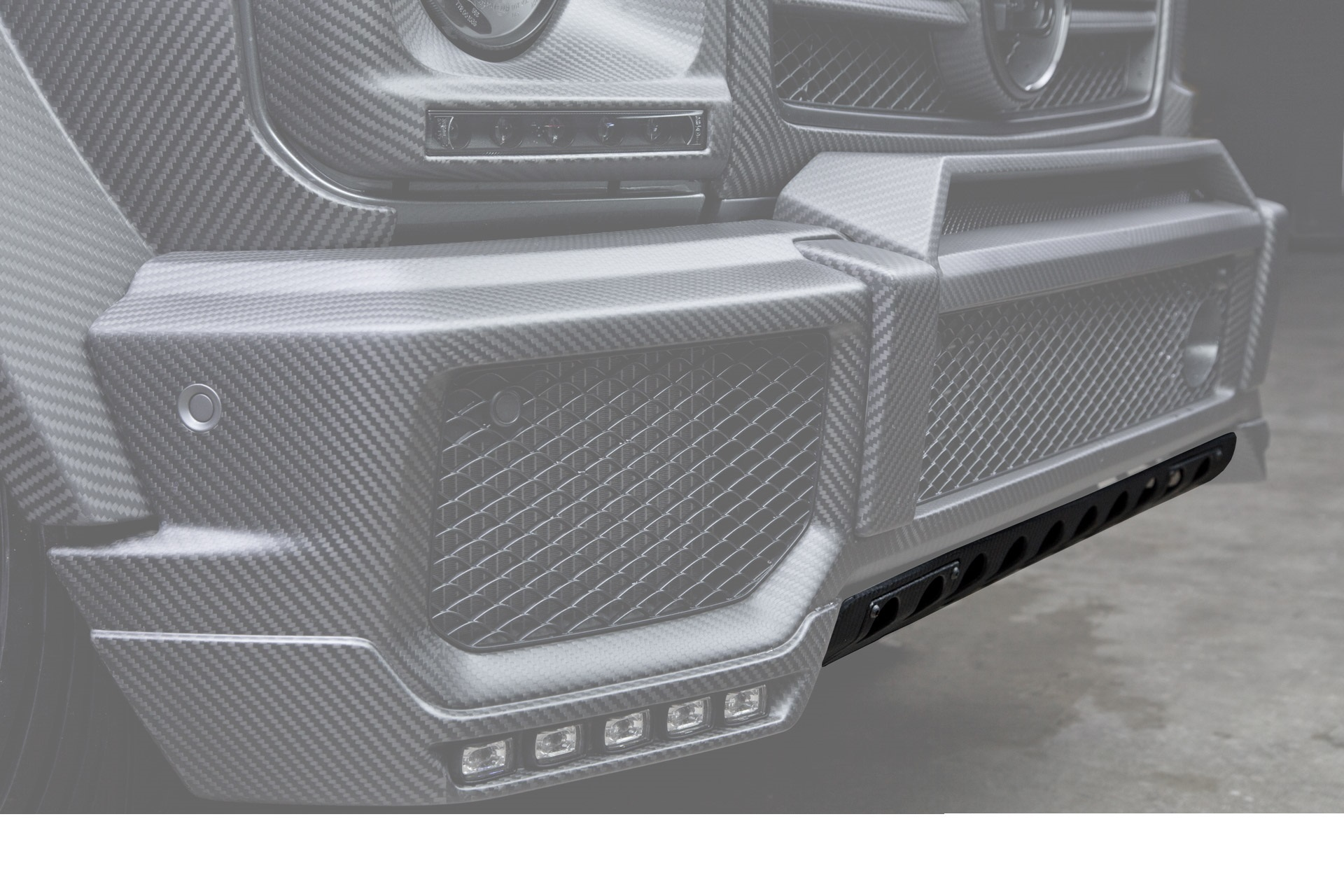 Hodoor Performance Carbon fiber protection Brabus Style for Mercedes G-class W463