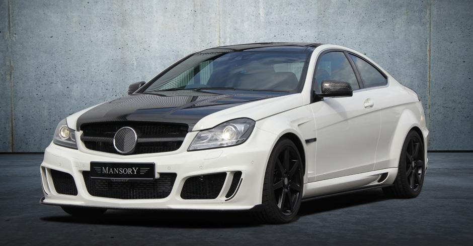 Mansory body kit for Mercedes-Benz C-class new model