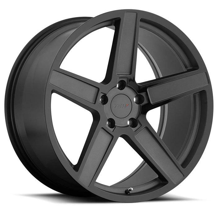 TSW Wheels Ascent light alloy wheels