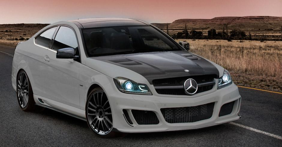 Mansory body kit for Mercedes-Benz C-class latest model