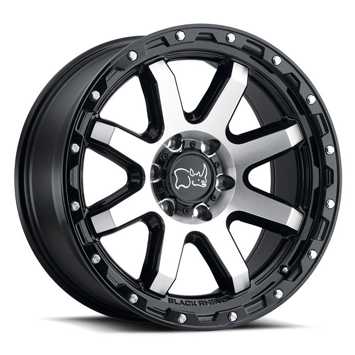 Black Rhino Coyote light alloy wheels