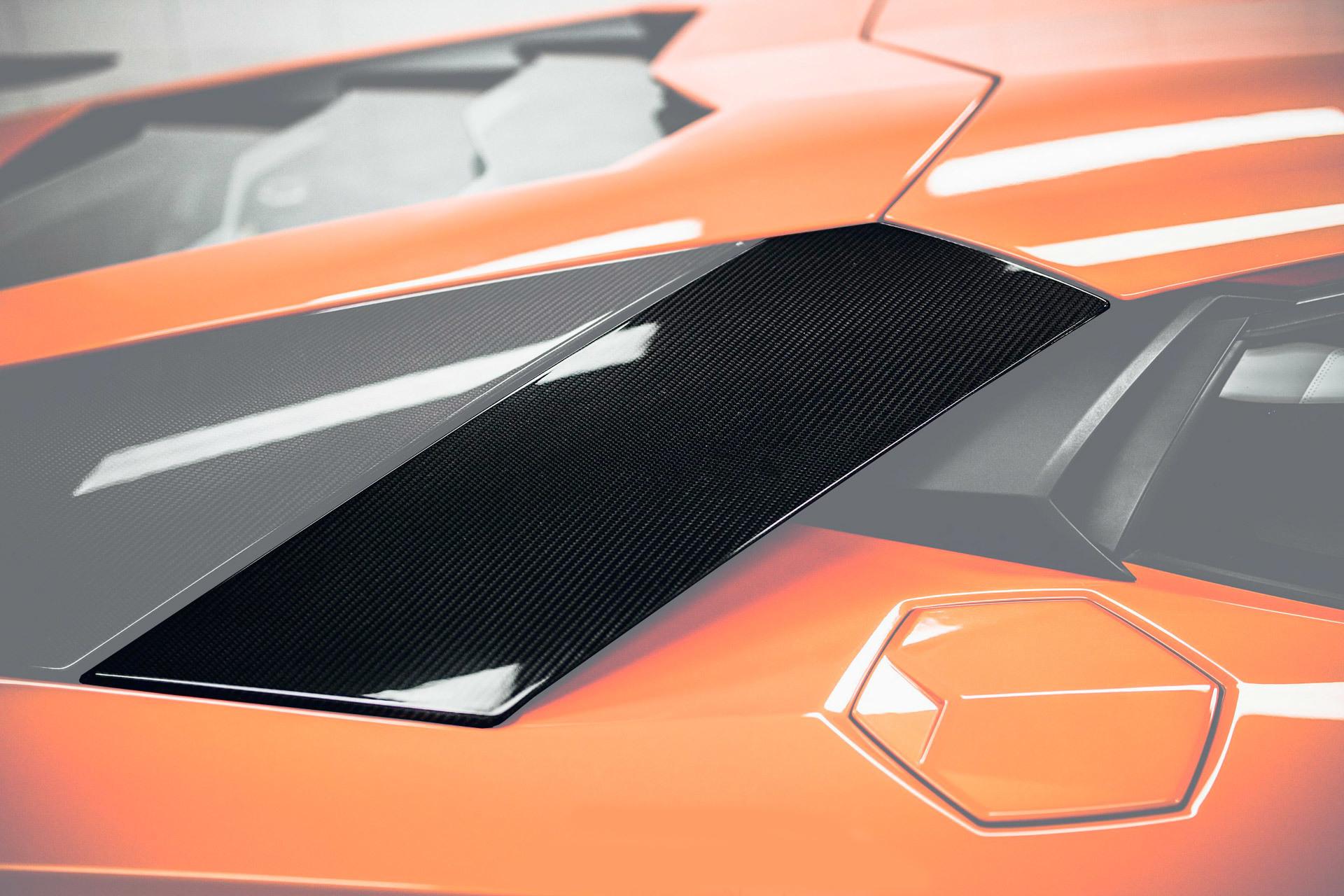 Hodoor Performance Carbon fiber upper large air intakes Mansory Style 2 for Lamborghini Aventador