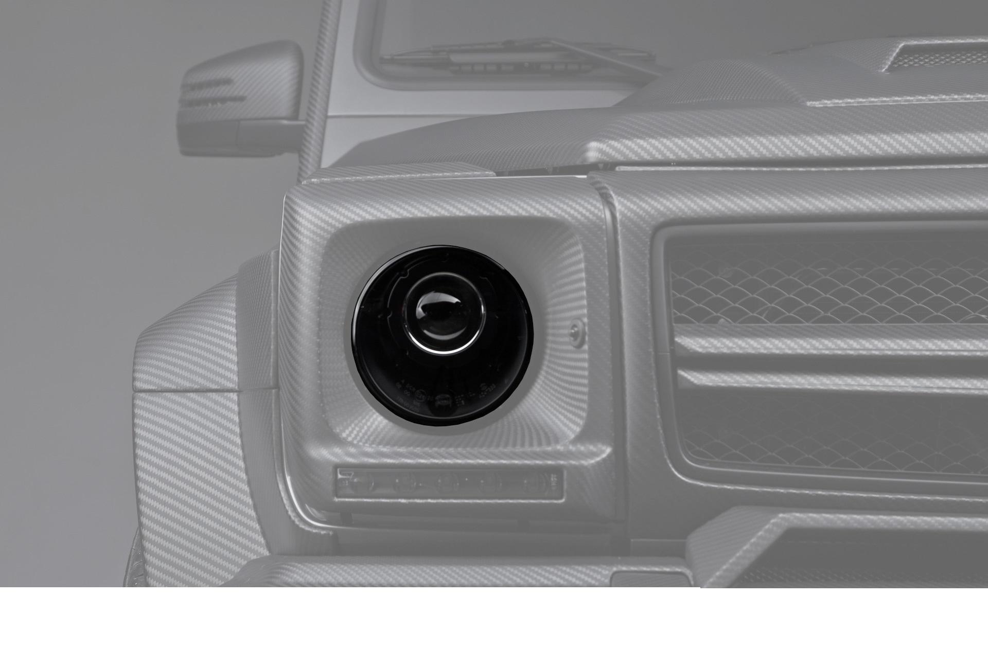 Hodoor Performance Carbon fiber headlights Black BRABUS Style for Mercedes G-class W463
