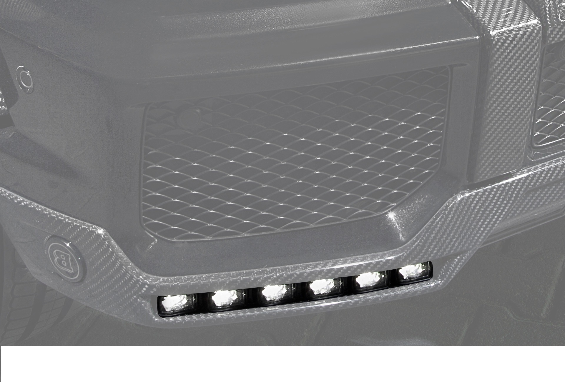 Hodoor Performance Carbon fiber running light BRABUS Style for Mercedes G-class W463