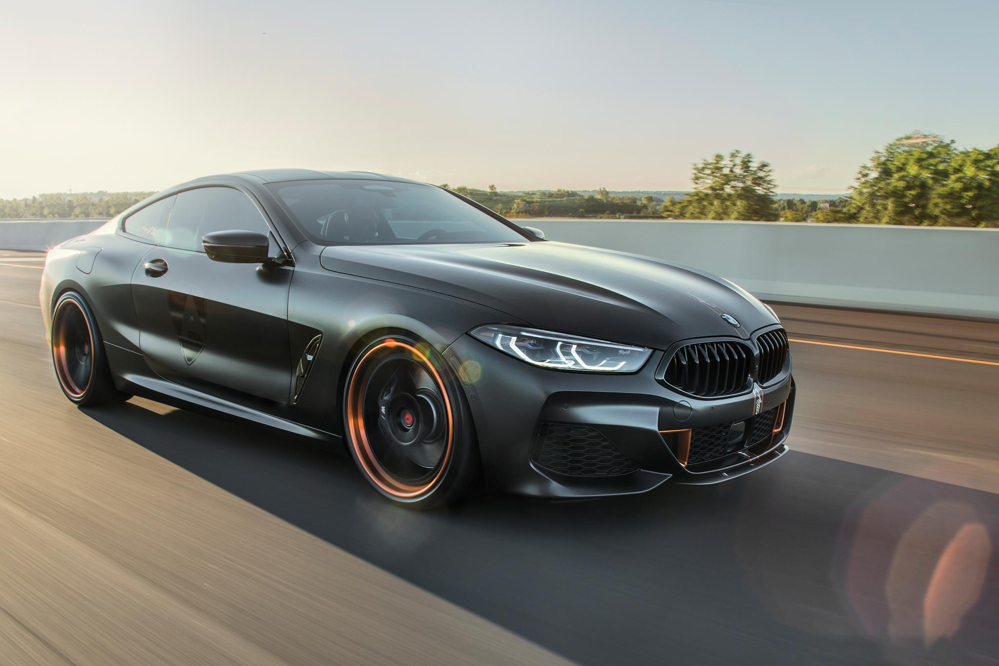 Sterckenn Carbon Fiber front splitter for BMW 8 G15 new model