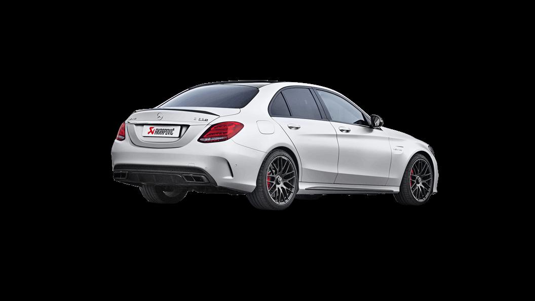 AKRAPOVIC exhaust system for Mercedes C63 Sedan AMG W205