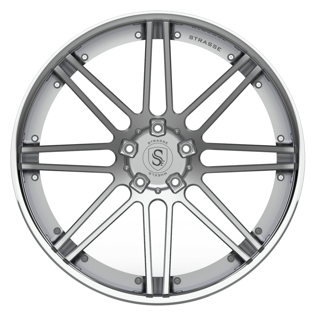 Strasse  S8 DEEP CONCAVE 3 Piece Forged Wheels
