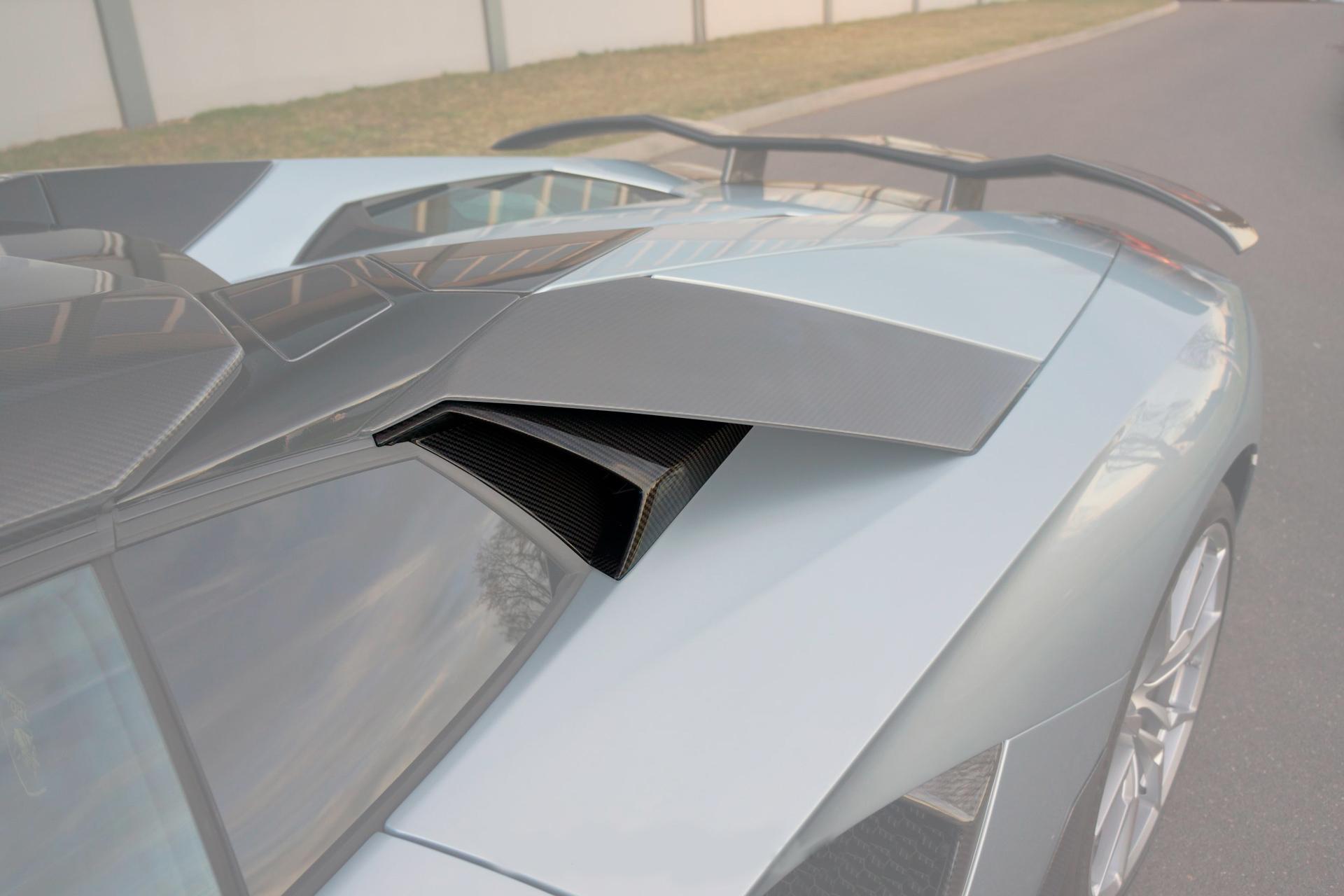 Hodoor Performance Carbon fiber upper small air intakes Mansory Style 2 for Lamborghini Aventador