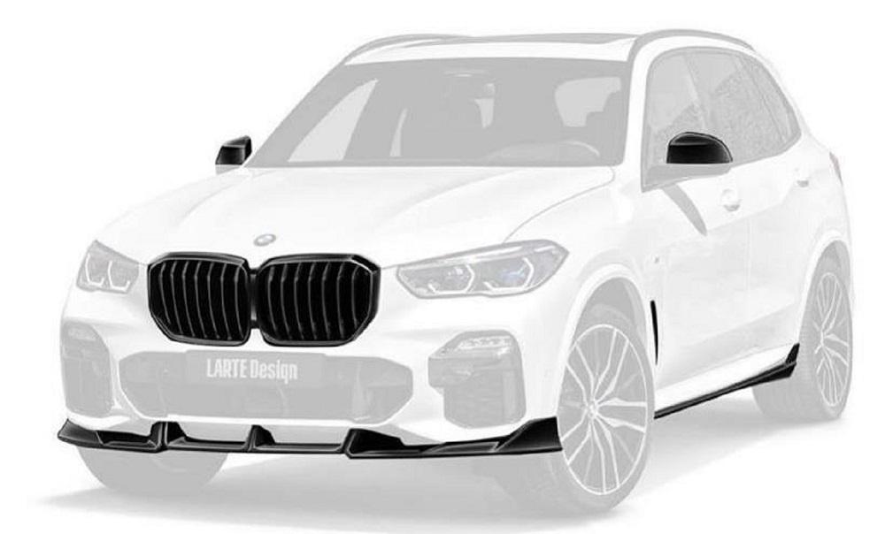 Hodoor Performance CARBON FIBER SPORTS SPLITTER BMW X5 G05 LARTE PERFORMANCE
