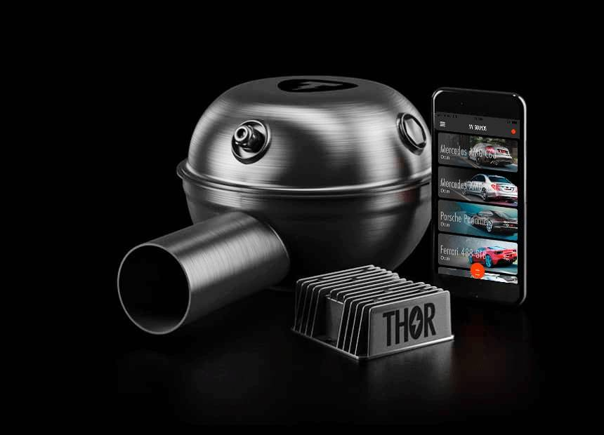 THOR Exhaust Systems for Lexus RX