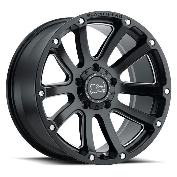 Black Rhino Highland  light alloy wheels
