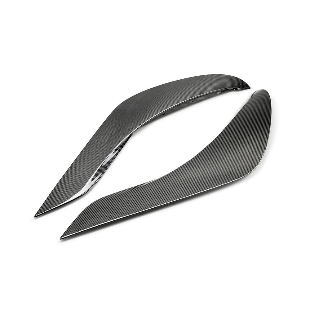 SEIBON OEM-STYLE CARBON FIBER DOOR GARNISH FOR  TOYOTA GR SUPRA new model