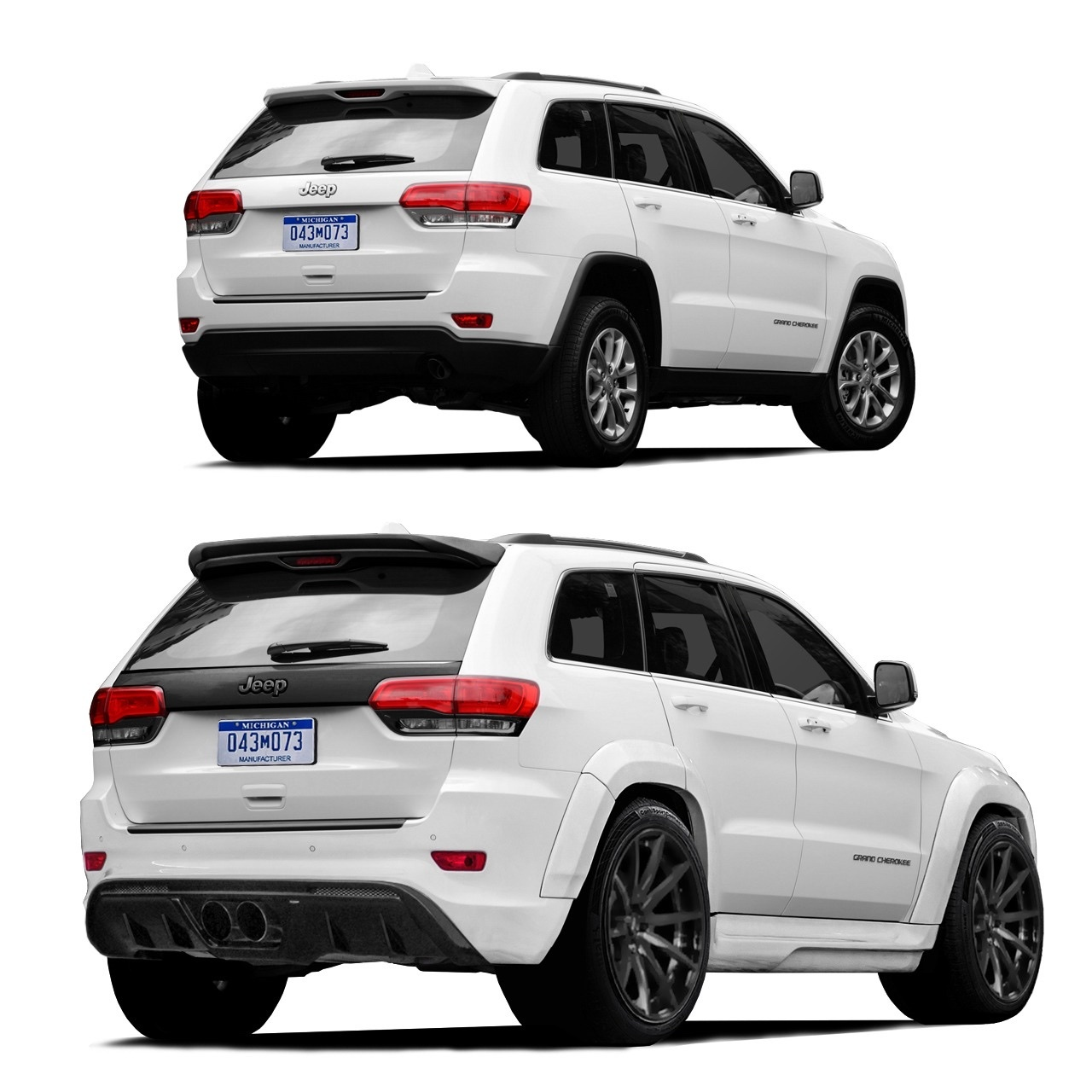 Renegade body kit for Jeep Grand Cherokee WK2 2011/16 V1 carbon