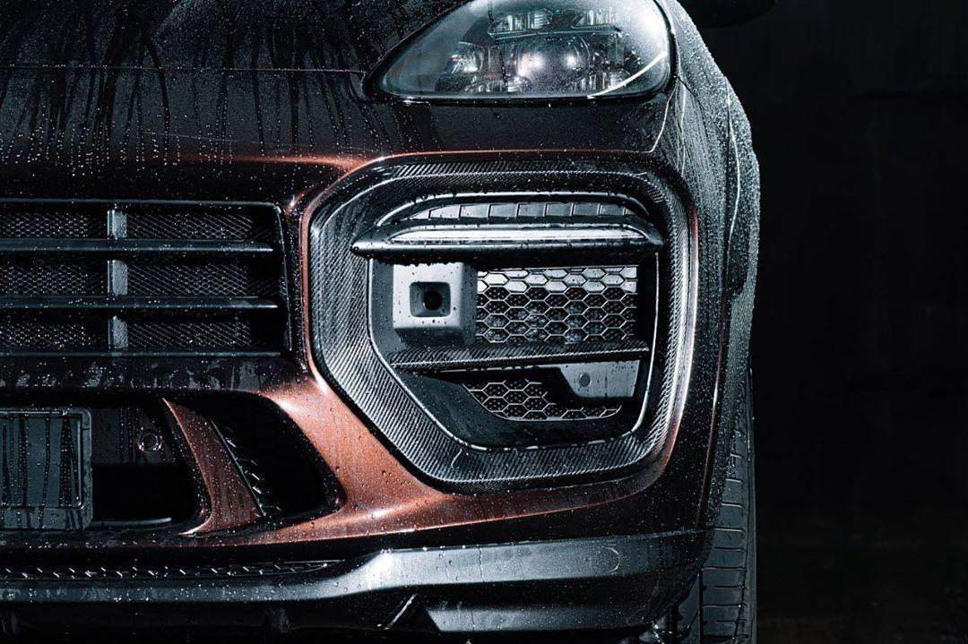 MTR Design Body Kit for Porsche Cayenne Coupe new style