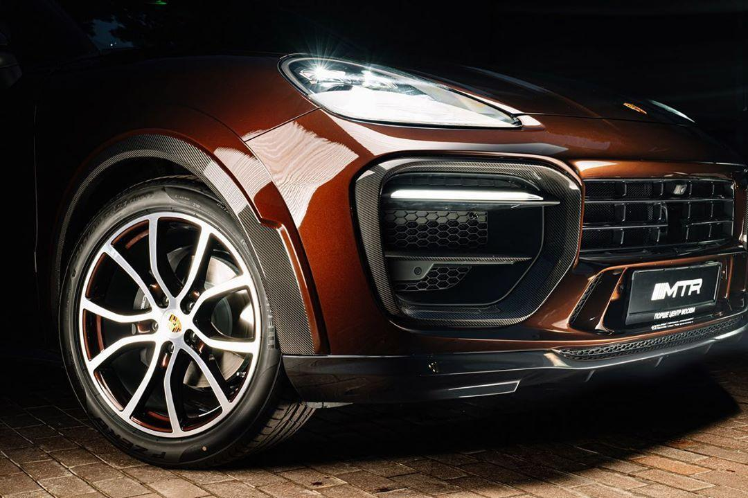 MTR Design Body Kit for Porsche Cayenne Coupe latest model