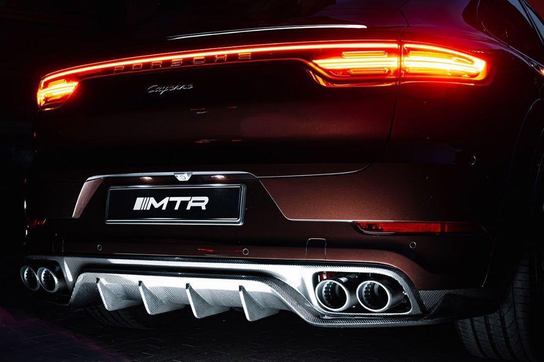 MTR Design Body Kit for Porsche Cayenne Coupe carbon fiber