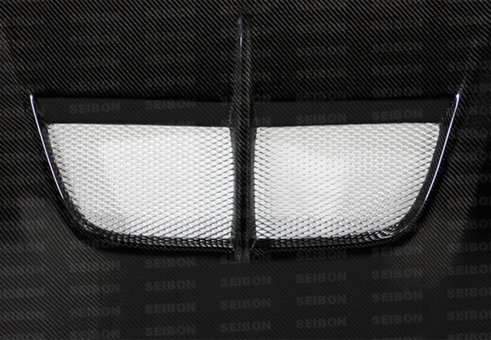 SEIBON BD-STYLE CARBON FIBER HOOD FOR  NISSAN 370Z new style