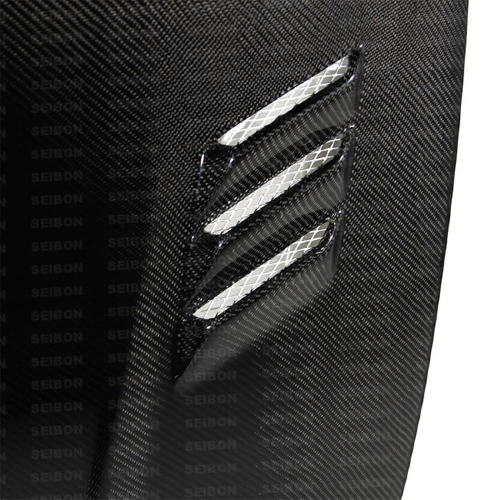 SEIBON BD-STYLE CARBON FIBER HOOD FOR  NISSAN 370Z latest model