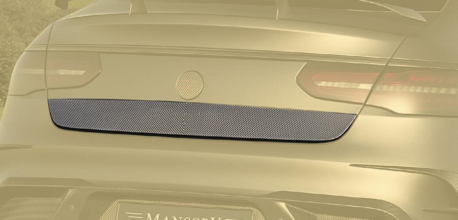 Hodoor Performance Carbon fiber trunk strap 63 AMG Style for Mercedes GLE coupe C292