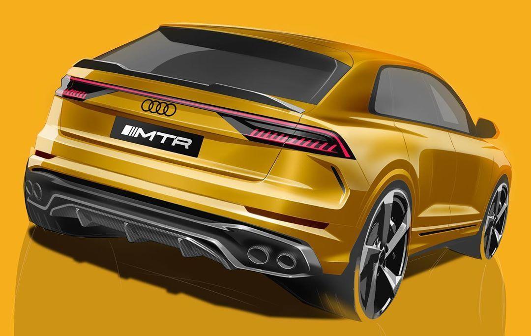 MTR Design Body Kit for Audi Q8 new style