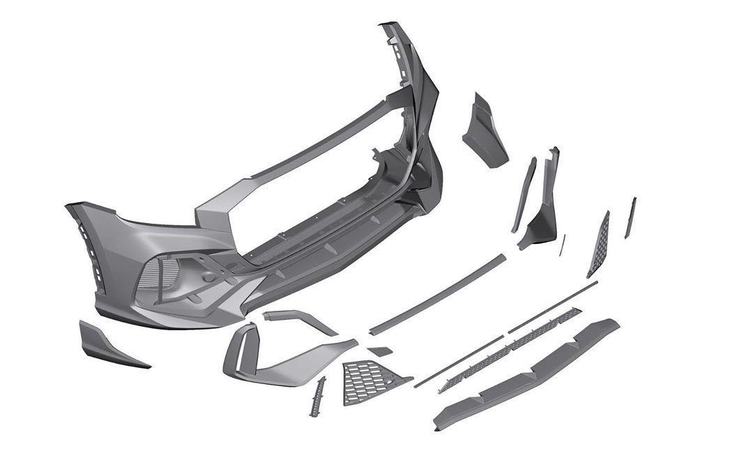 MTR Design Body Kit for Audi Q8 latest model