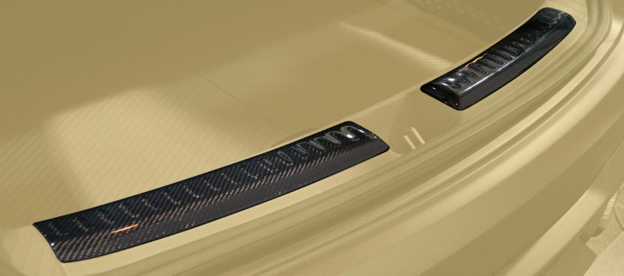Hodoor Performance Carbon fiber boot covers 63 AMG Brabus Style for Mercedes GL coupe C 292