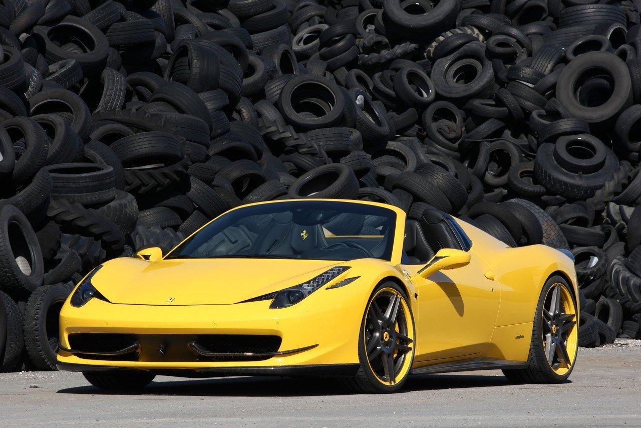 Novitec body kit for Ferrari 458 Spider