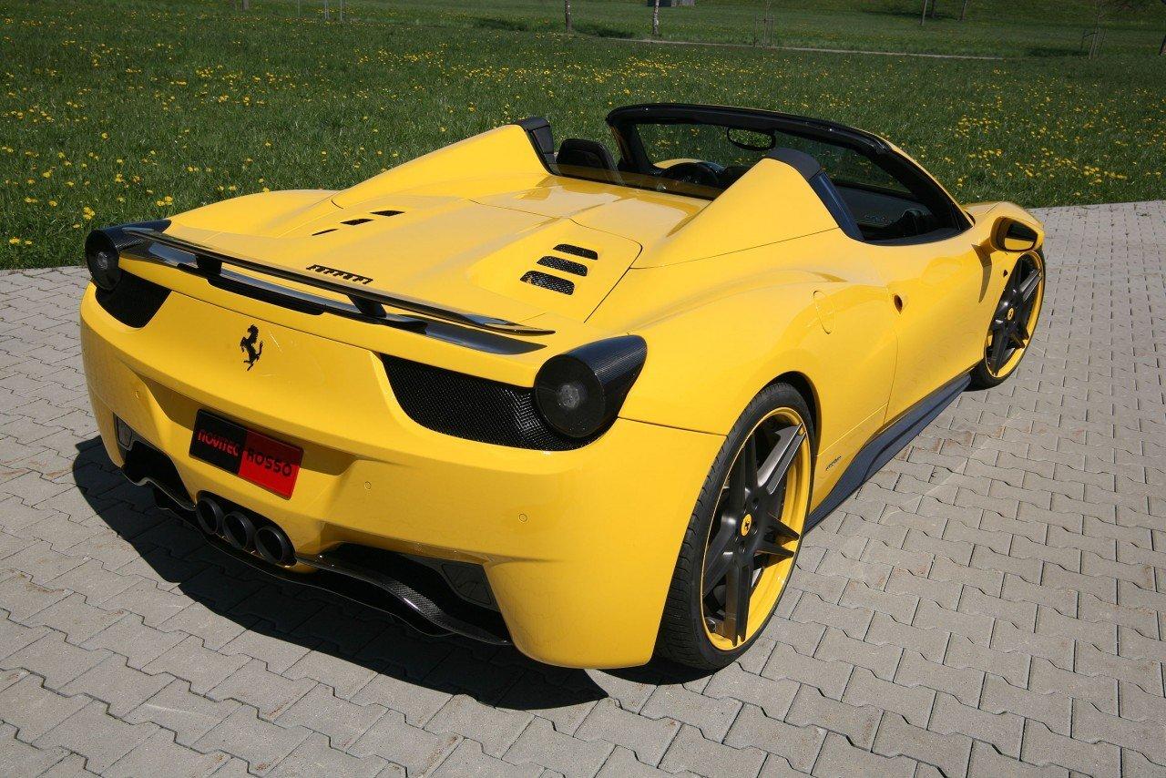Novitec body kit for Ferrari 458 Spider 2020