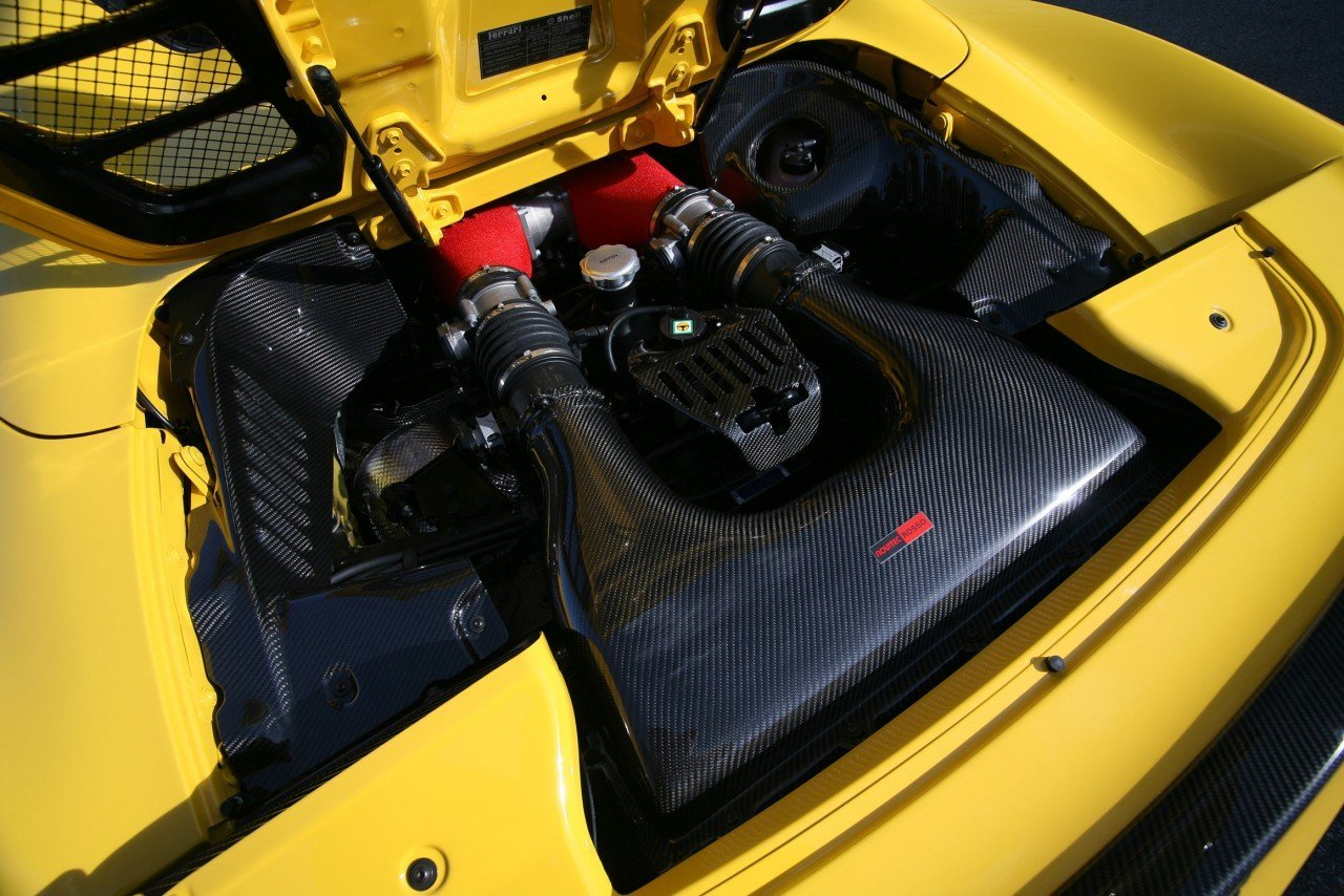 Novitec body kit for Ferrari 458 Spider 2021