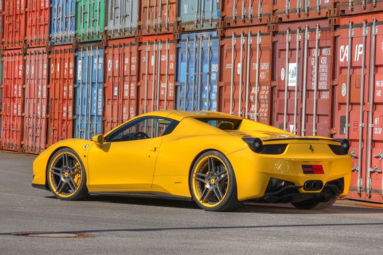 Novitec body kit for Ferrari 458 Spider 2019-2020