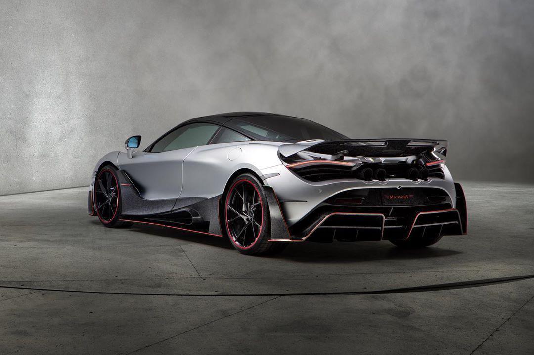 Mansory body kit for McLaren 720S latest model