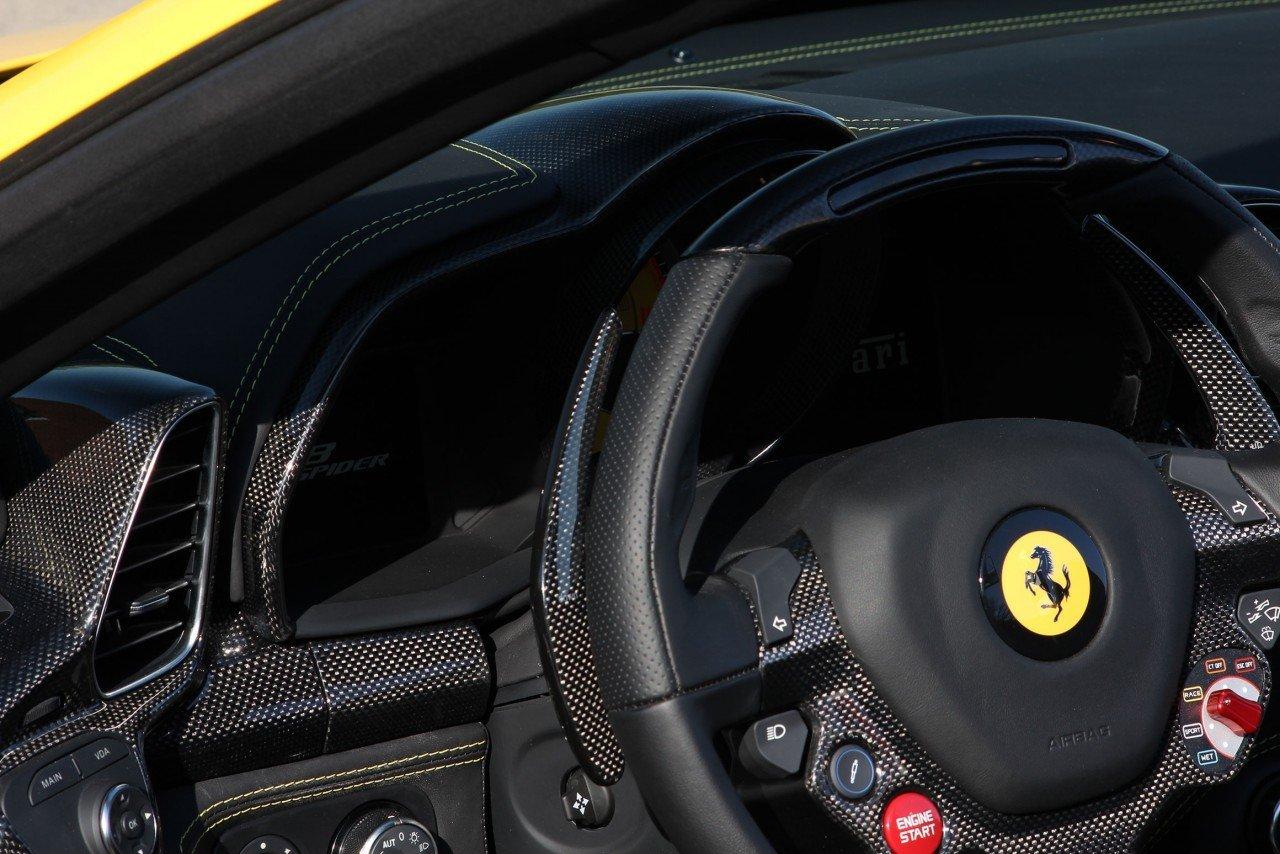 Novitec body kit for Ferrari 458 Spider new model 2021