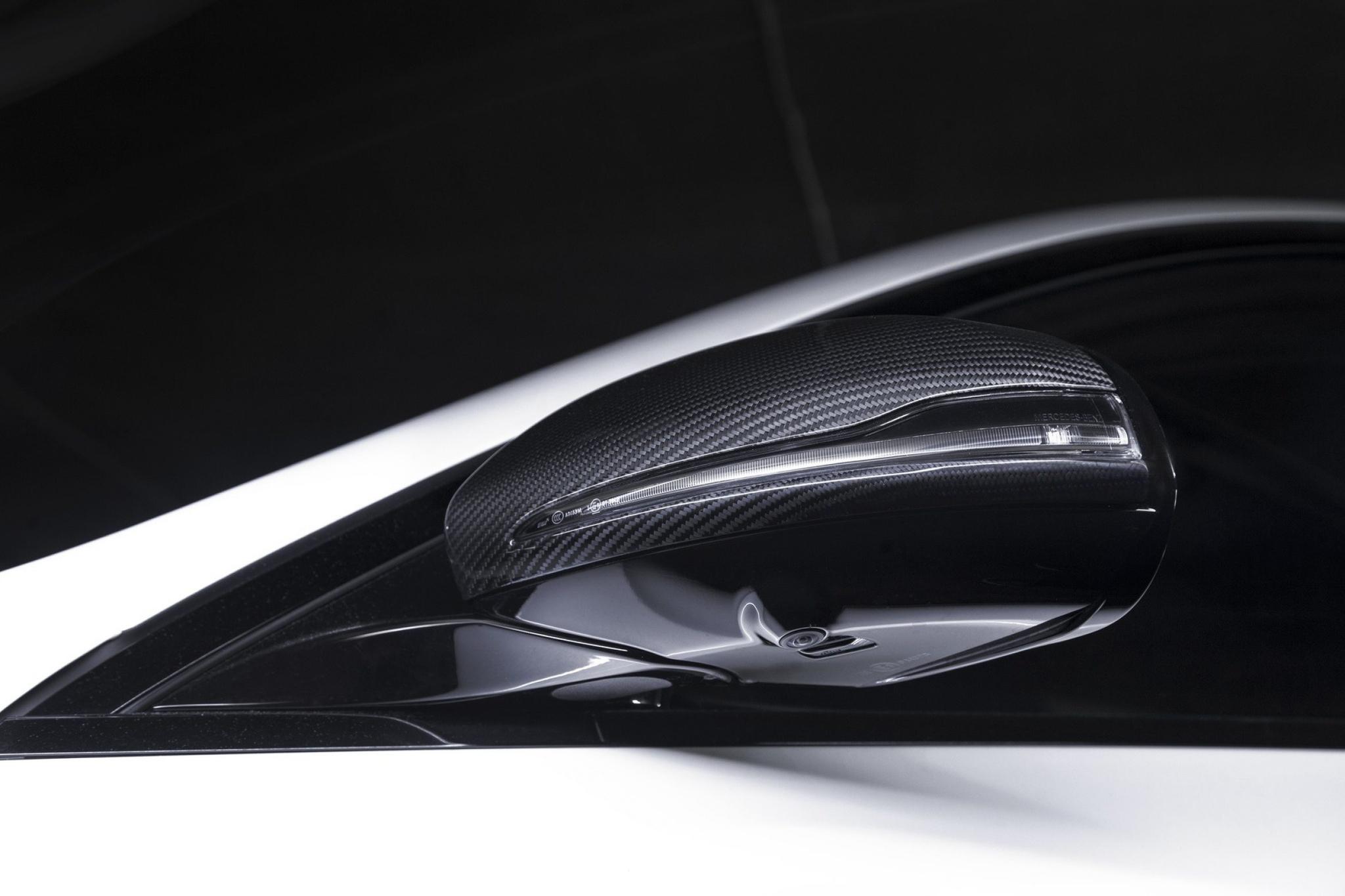 Hodoor Performance Carbon fiber mirror caps for Mercedes AMG GT