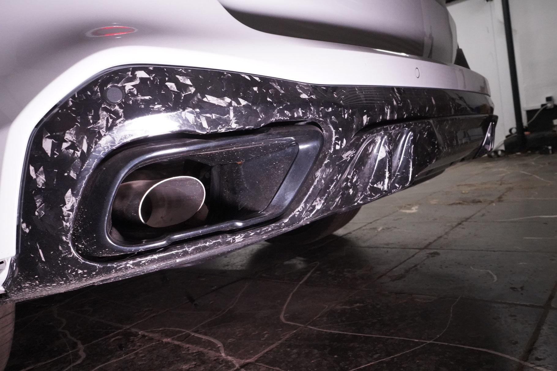Hodoor Performance Carbon fiber big rear diffuser BMW X5 G05