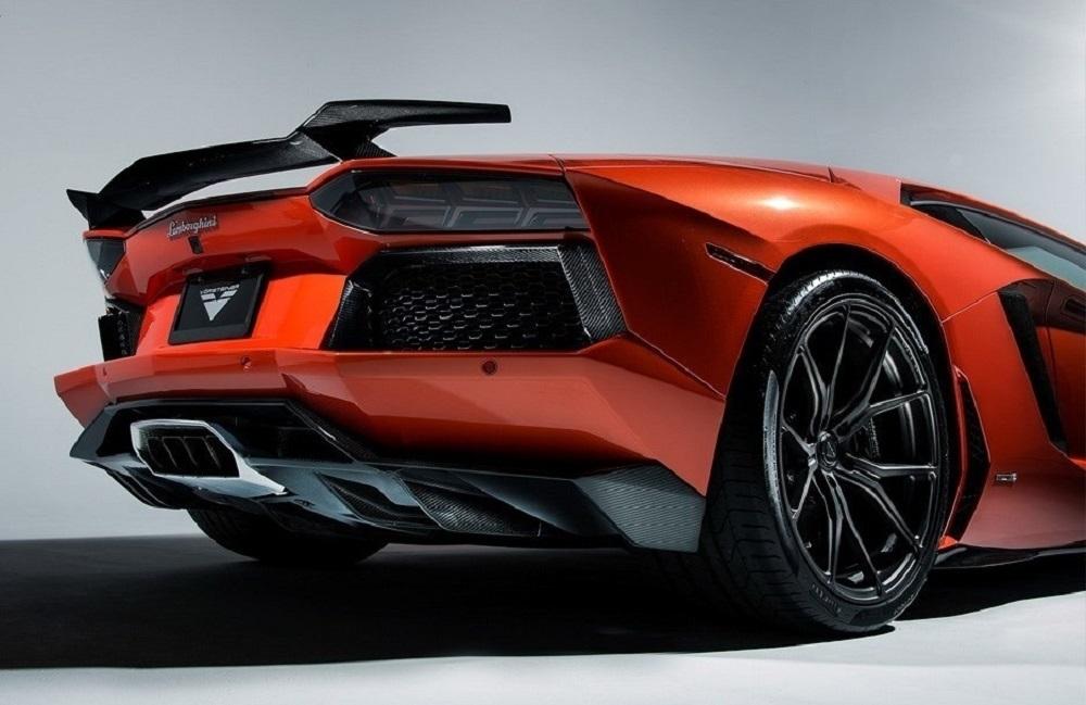 VORSTEINER STYLE CARBON rear diffuser for Lamborghini Aventador new style