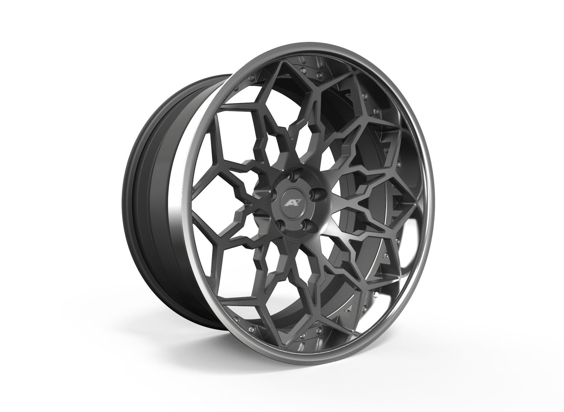 AMP Forged Wheels AMP 1010-3P FLAT LIP