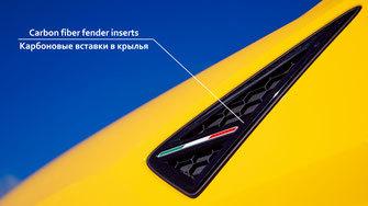 Hodoor Performance Carbon fiber fender inserts Lamborghini Urus