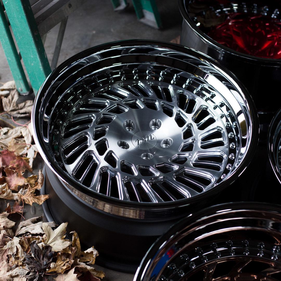 WATERCOOLED LP1 forged wheels