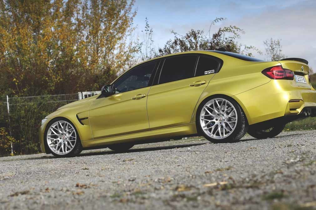 HRE RC100 (RC1 Series) forged wheels