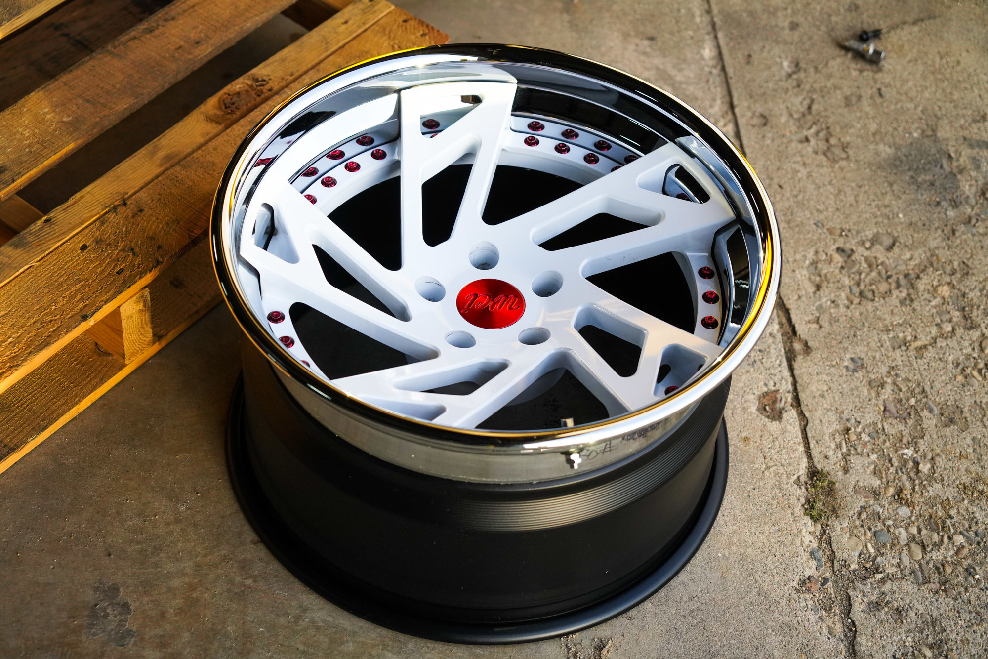 WATERCOOLED CR1 forged wheels