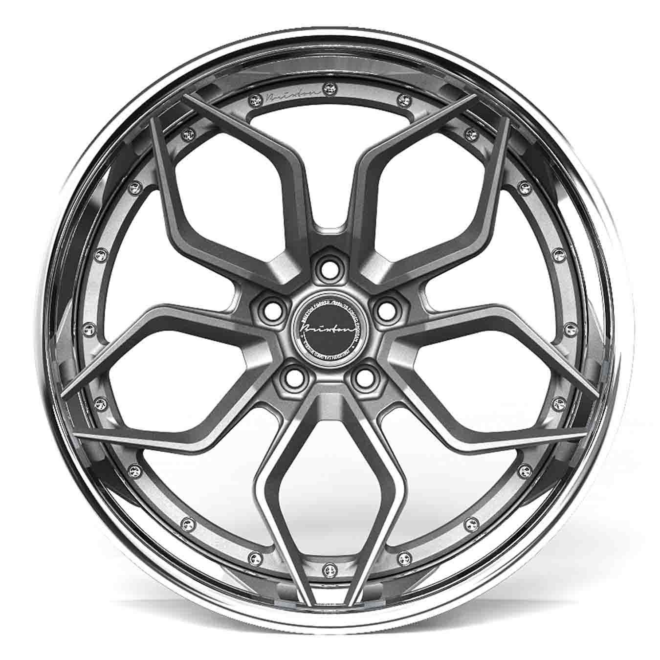 Brixton PF9 (Targa Series) forged wheels