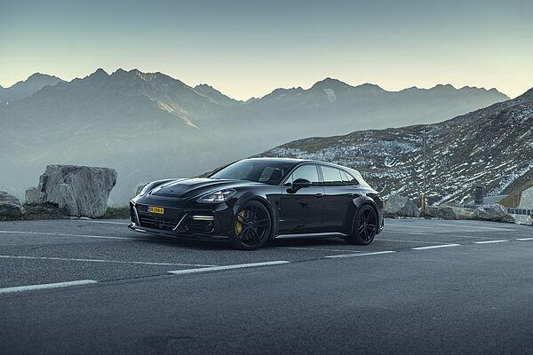 TECHART Grand GT body kit for Porsche Panamera carbon fiber