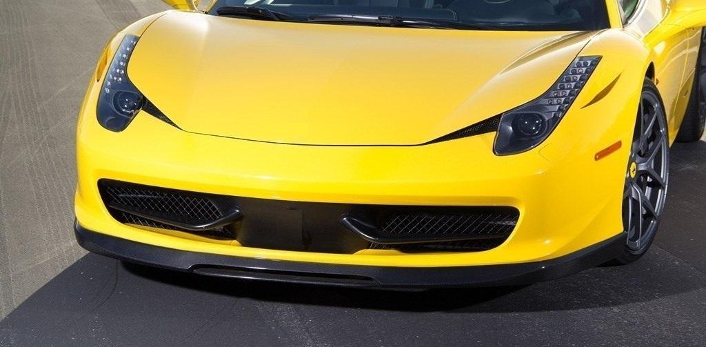 VORSTEINER STYLE CARBON front bumper SPOILER FOR Ferrari 458 Italia NEW MODEL