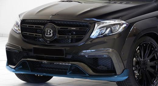 Hodoor Performance Carbon fiber spoiler front bumper for Mercedes GLS