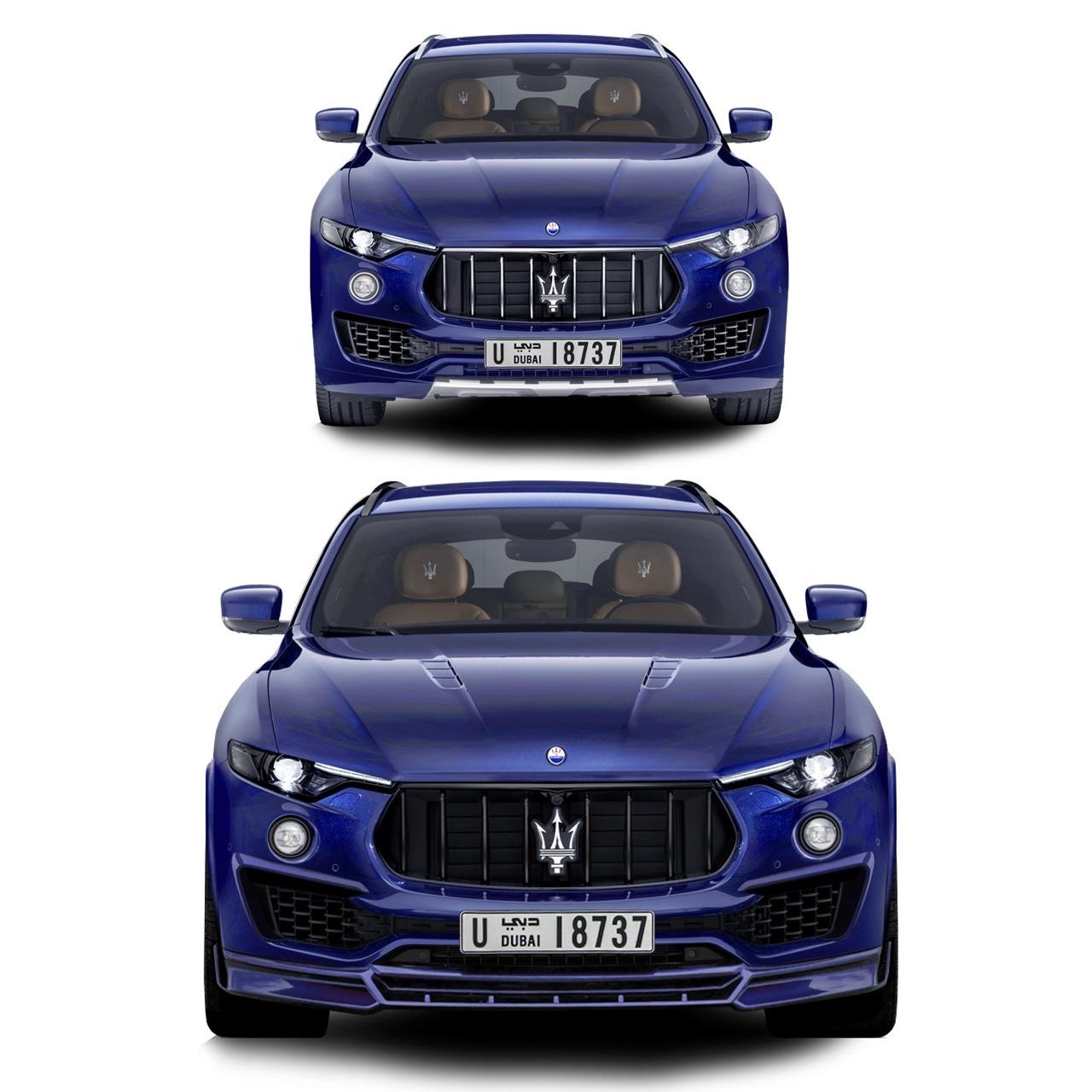 Renegade body kit for Maserati Levante new model
