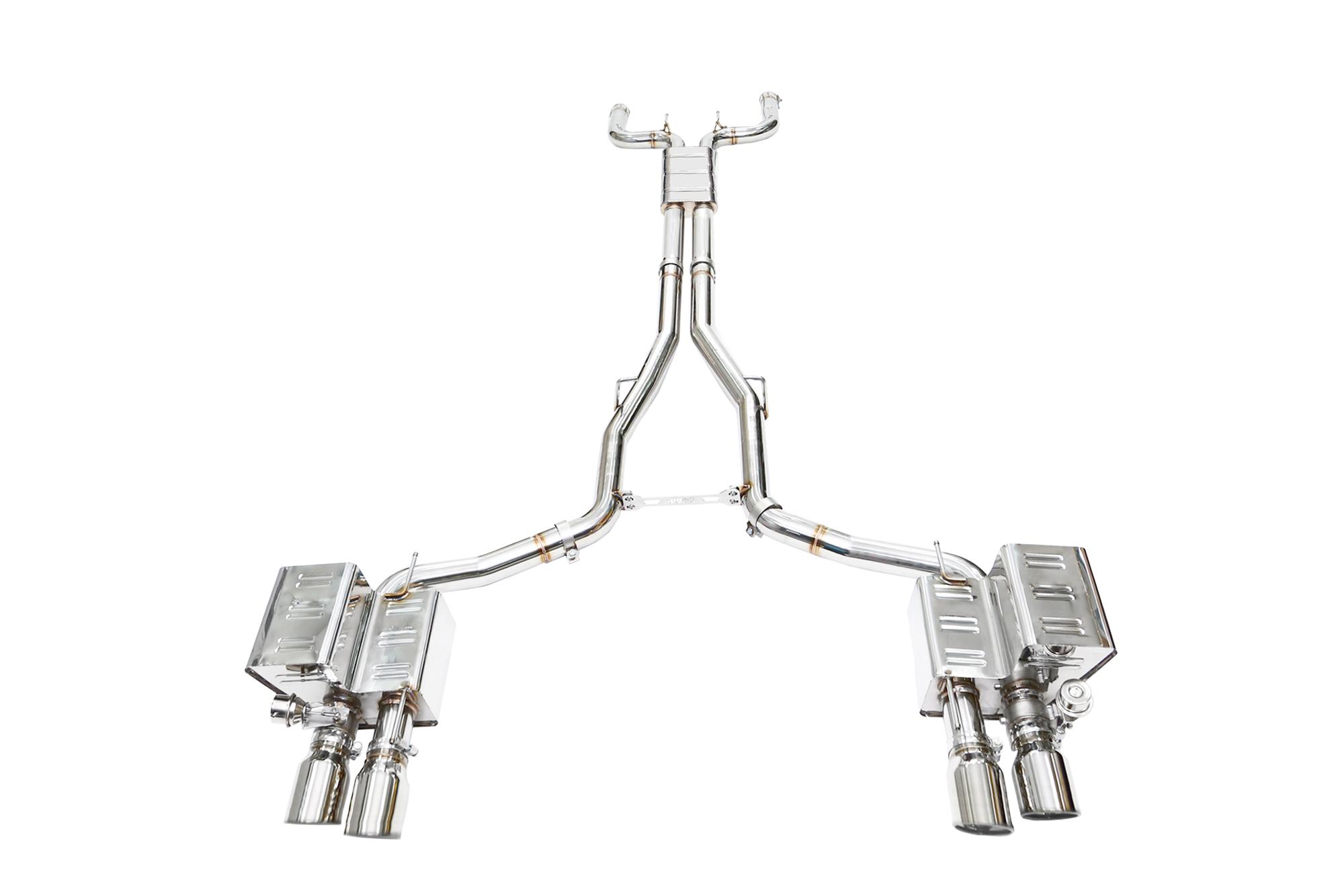 IPE exhaust system for Maserati Quattroporte MK6