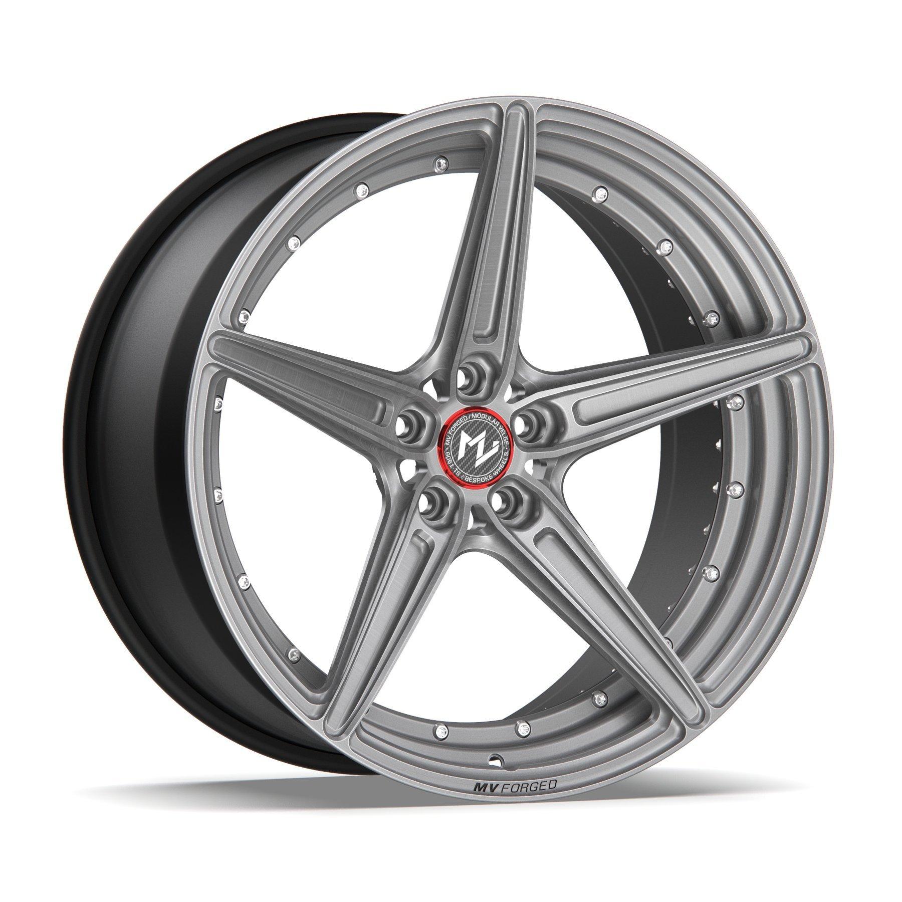 Modular Velge MR-505 DUO forged wheels
