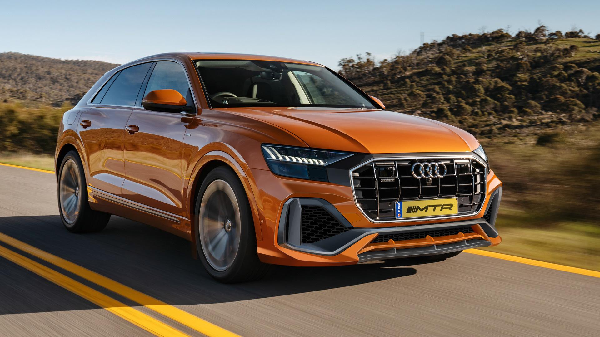 MTR Design Carbon Body Kit for New Audi Q8